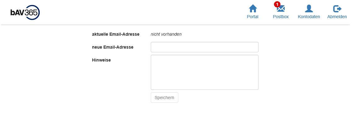 Mitarbeiterportal Email